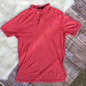 Polo Ralph Lauren Red Short Sleeve Polo